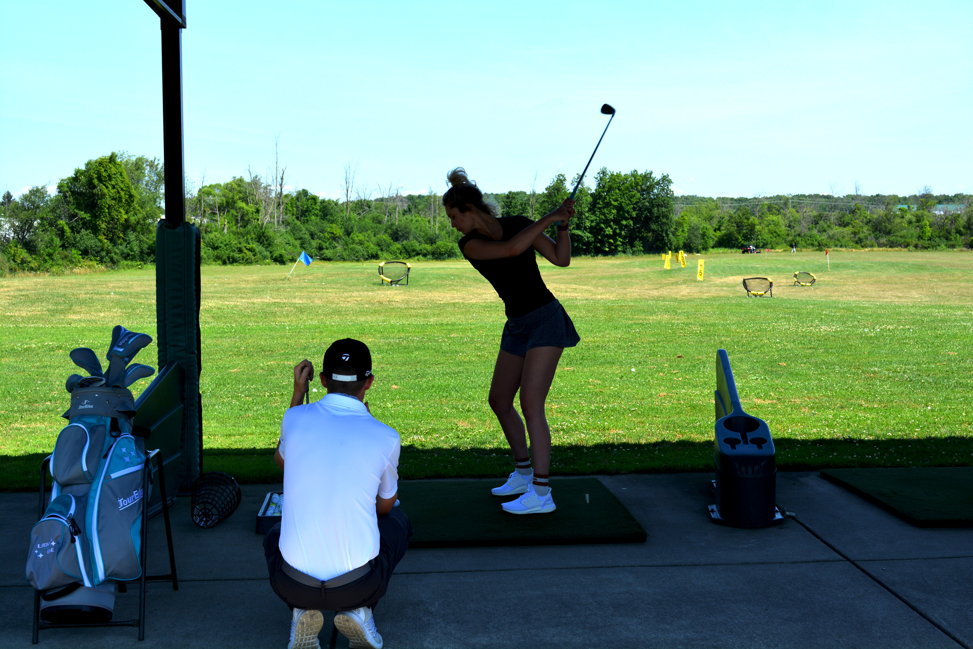 Clarence Driving Range Private Golf Lessons