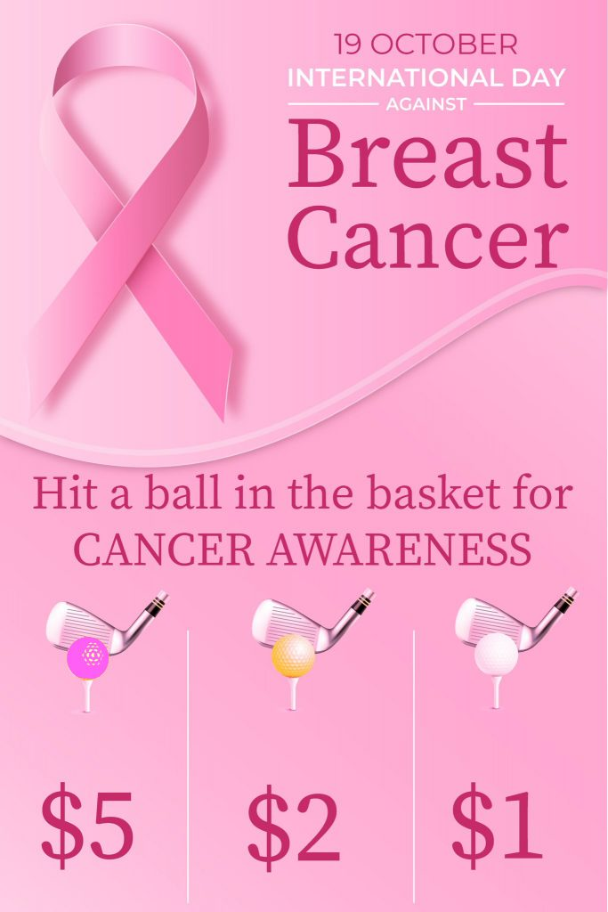 Breast Cancer Awareness Clarence Driving Range